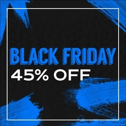 Black Friday 45% OFF