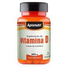 Vitamina D 250mg Oil (60 Caps)