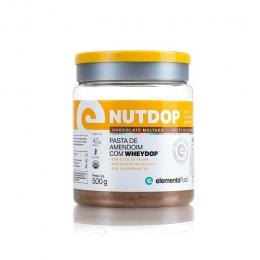 NUTDOP PASTA DE AMENDOIM (500G) - Chocolate Maltado